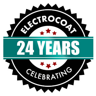 celebrating 24 years electrostatic painting